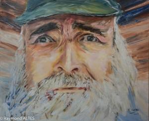 Tableau : Autoportrait Breton