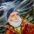 Tableau de Raymond Altès : à bord par mauvais temps