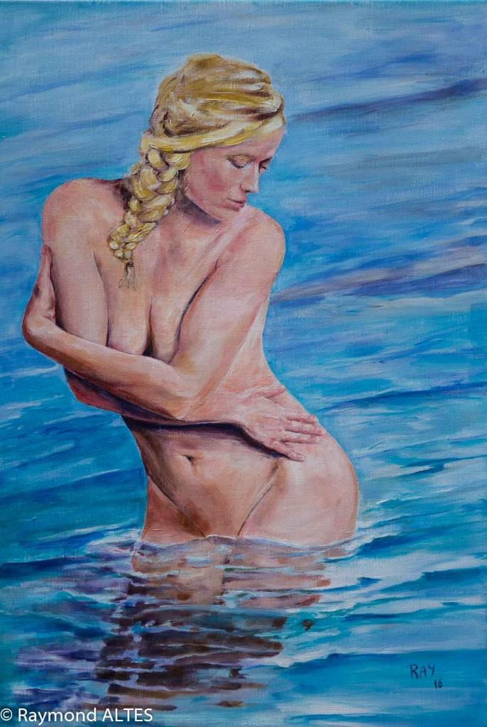 Peinture de Raymond Altès : Calypso