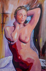 Peinture de Raymond Altès : Sans voile