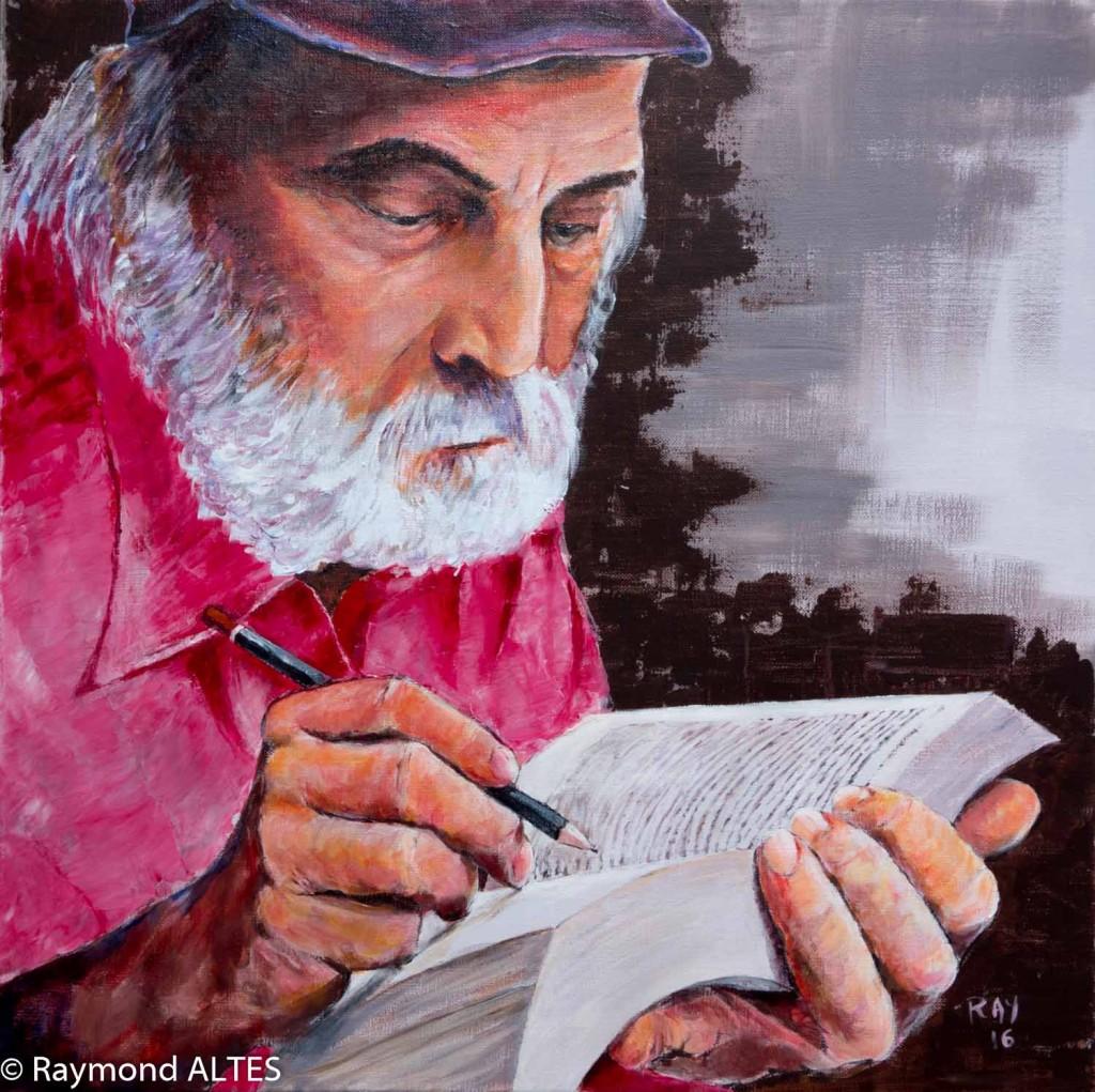 Le crayon gris peinture de Raymond Altès