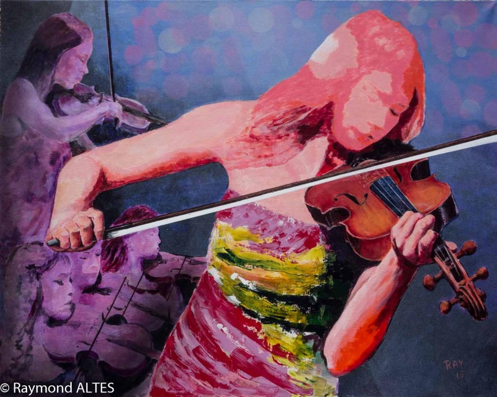 Peinture tableau de Raymond Altès
