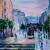Peinture de Raymond Altès : Rue Siam, Brest