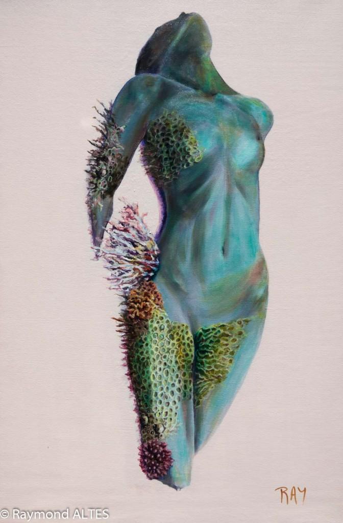 """Peinture de Raymond ALTES """"Vestige"""""""