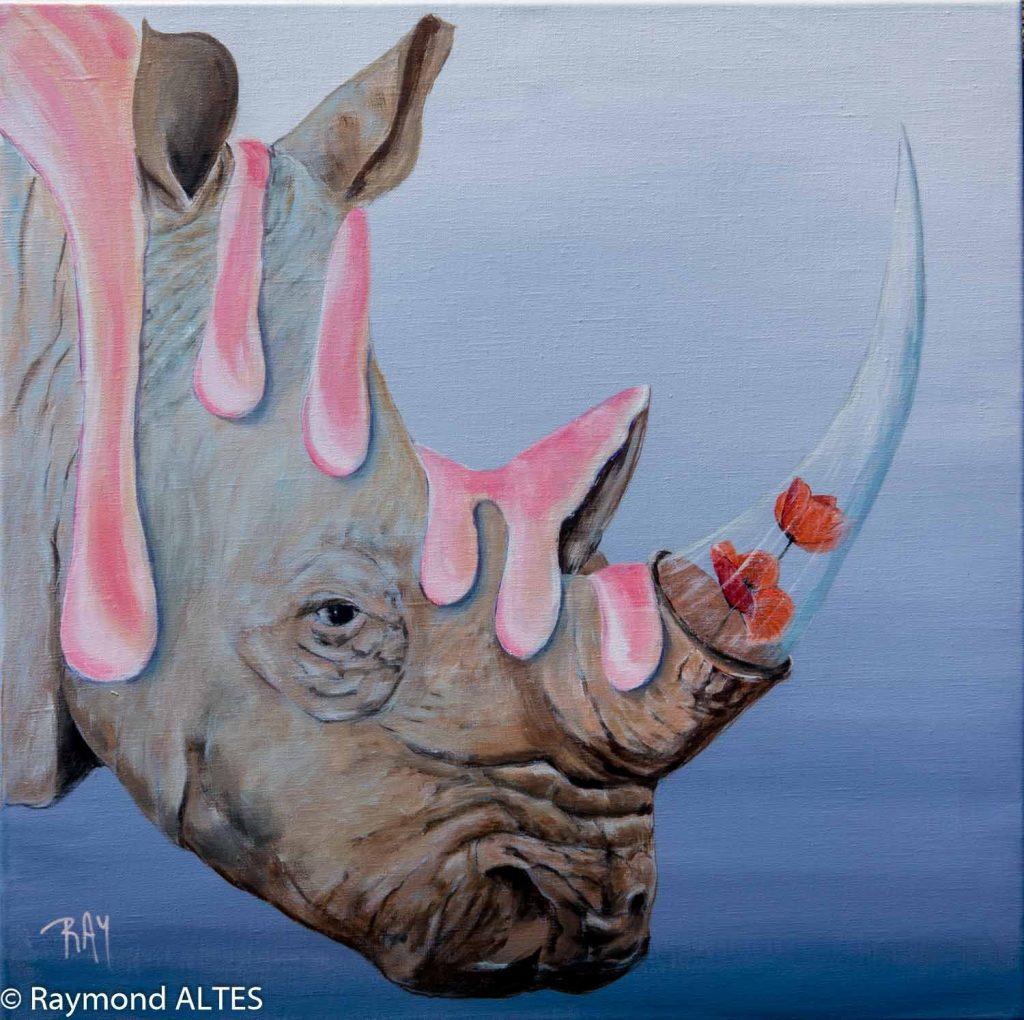 Raymond-Altes-Tableau-rhinocéros
