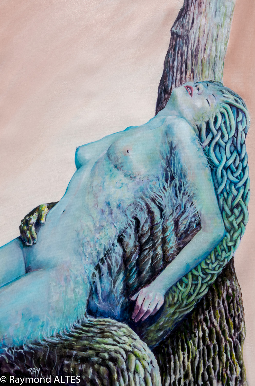 Métamorphose tableau de Raymond ALTES