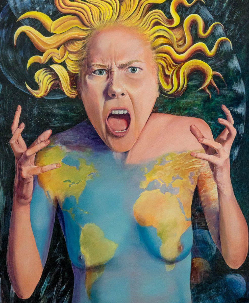 Raymond-Altes-Tableau : Cris de colère